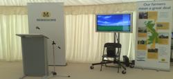 av hire edinburgh morrisons event